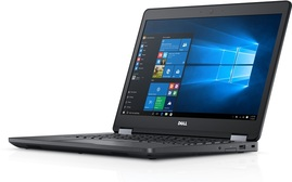 Dell E5470 i7-6600U 8GB 240GB Nowy SSD AMD Radeon R7 M360 1366x768 Windows 10 Pro