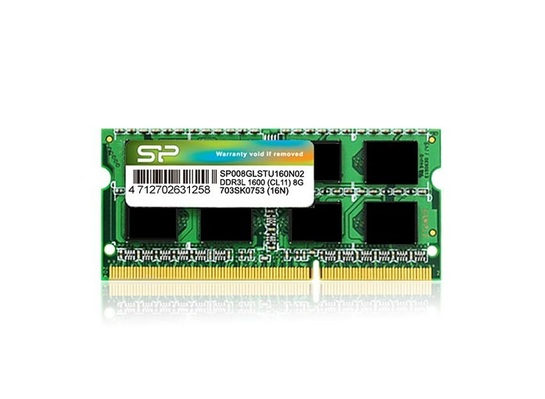 PAMIĘĆ RAM 8GB DDR3 SILICON POWER SODIMM 1600 MHz LOW