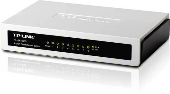 Switch TP-LINK TL-SF1008D 8-Port